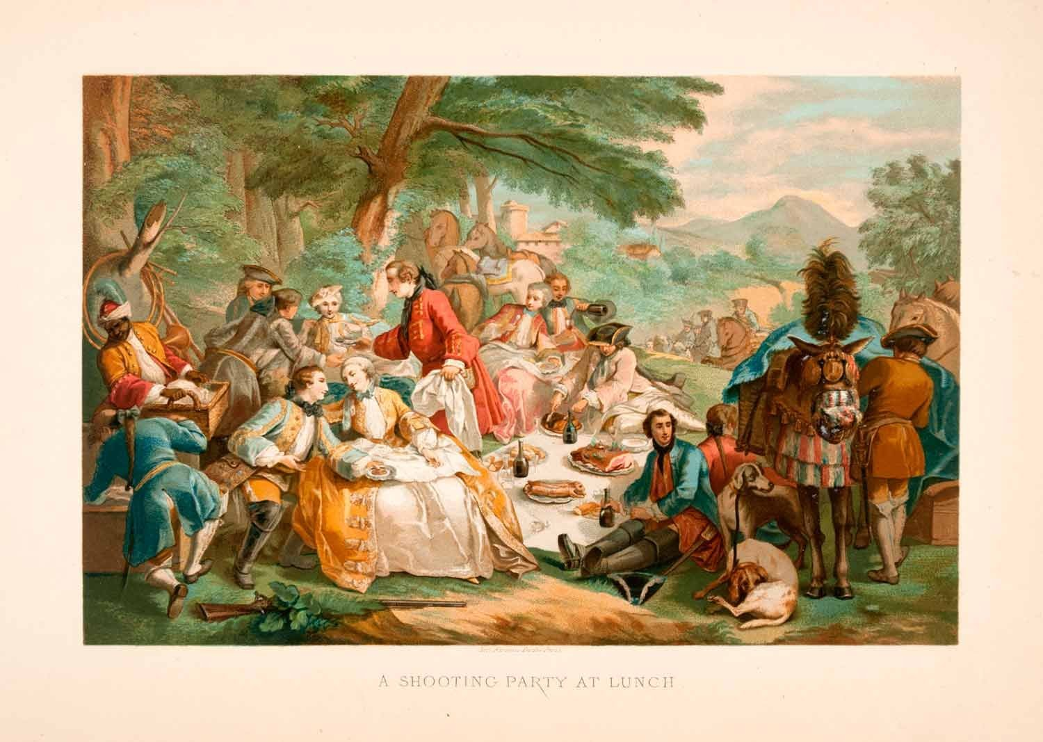 Food history for 18th century french cuisine