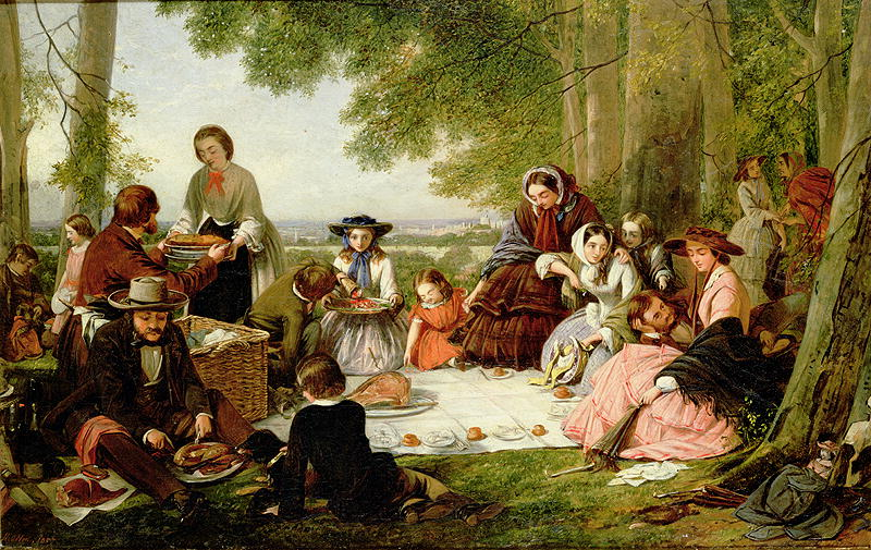 History of the picnic for American regional cuisine history